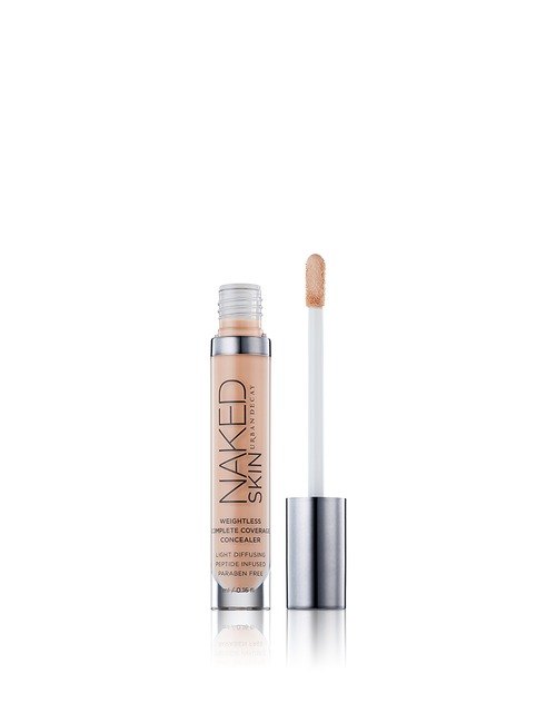 Closeup   urban decay naked skin weightless complete coverage concealer medium light a 2