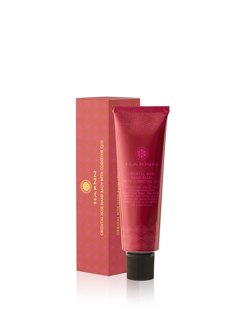 Closeup   harnn orientalrose handcream