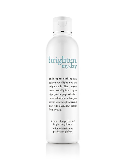 Closeup   philosophy brigthenmyday whitening lotion